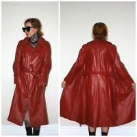 3/4 length Leather Coat