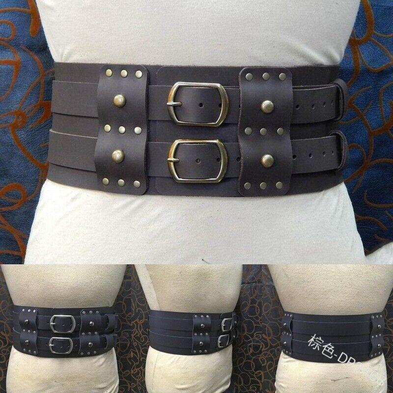 Medieval Belt Waist Adult Men LARP Warrior Armor Costume Waistbelt