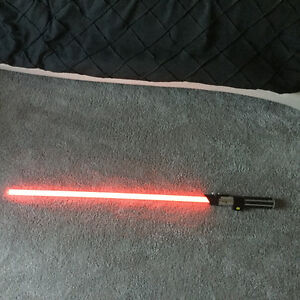 Master Replicas Darth Vader FX Lightsaber- 2005- Rare- Look!
