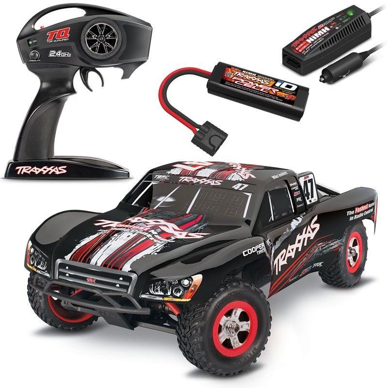Traxxas 1//16 Slash Truck 4X4 RTR w// TQ Radio//Battery//Charger #47 Mike Jenkins