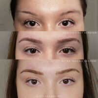 MICROBLADING FLUFFY NATURAL BROWS