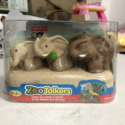 Fisher-Price Little People ZOO TALKERS Elephant FAMILY toy gift  New in Box