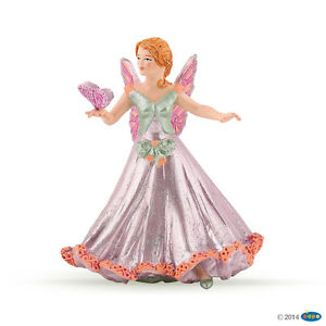 NEW-PAPO-38806-Butterfly-Elf-Pink-9-0cm-Tall-Fantasy