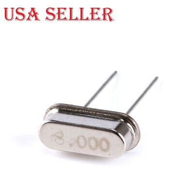 35pcs Hc-49s Crystal Oscillator Ceramic Quartz Resonator Electronic Kit 7 Types