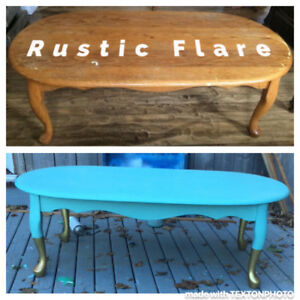 Rustic Flare's Gorgeous Coffee Table
