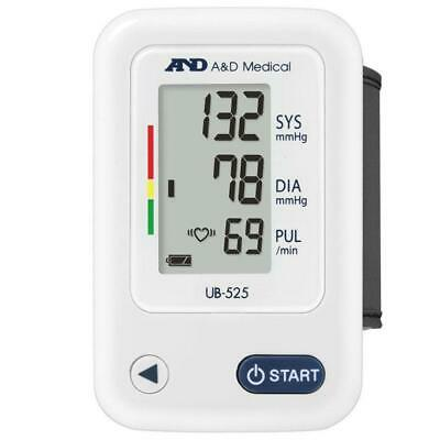 A&D UB525 Medical Compact and Lightweight Wrist Blood Pressure LCD