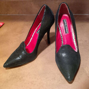 French designer Charles Jourdan heels; size 7.5; worn only once