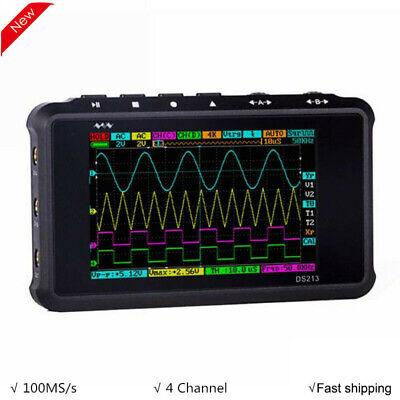 Arm Ds213 Mini 4 Channel Nano V2 Quad Digital Oscilloscope Portable Pocket Size