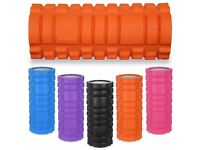 Yoga Foam Roller High Density Foam Easy To Clean Portable   Daddy Supplements