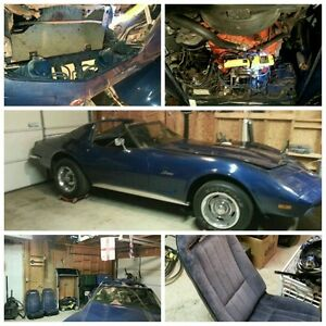 1973 Corvette Restoration Project