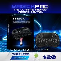 MagickPad Mini KeyBoard With MousePad For Android Tv !!