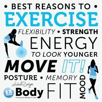 Fall Into Exercise Classes