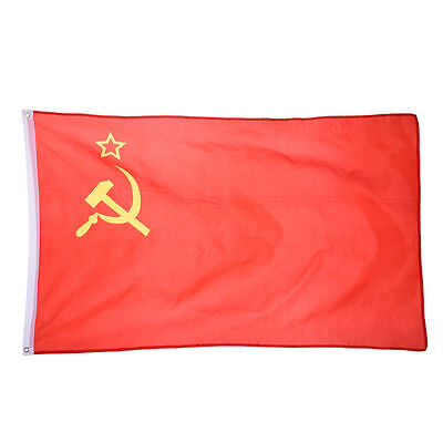 USSR Flag 90*150cm Office Activity Parade Holiday Festival Decoration Banner](Halloween Activities Festival)