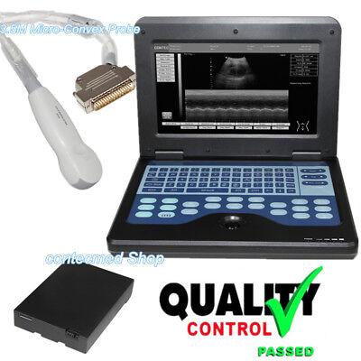 3.5m Cardiac Probe Portable Digital Ultrasound Scanner Machine Diagnostic System