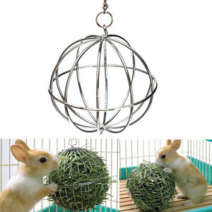 New Sphere Treat Guinea Pig Hamster Rat Rabbit Feed Dispenser Hanging Ball Toy