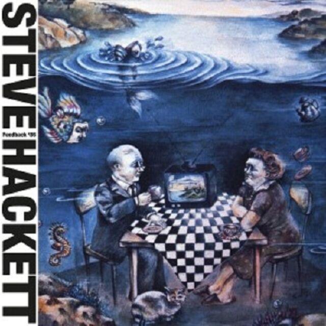 STEVE HACKETT - FEEDBACK '86 (RE-ISSUE 2013)  CD  8 TRACKS PSYCHEDELIC ROCK NEU