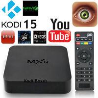 Android TV Box Quad Core Streaming Kodi 15.2 FREE TV MOVIES