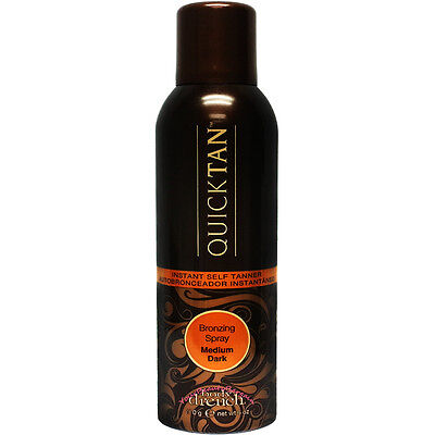 Body Drench Quick Tan Bronzing Spray Medium Dark 6 oz Sunless Tanner