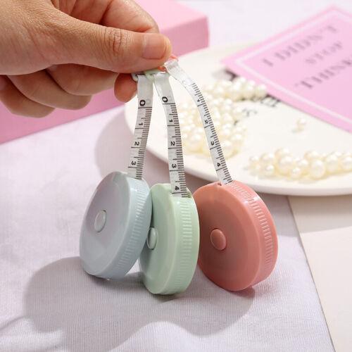 Portable Retractable Tape Measure Height Ruler Centimeter Random Color Tape Roll