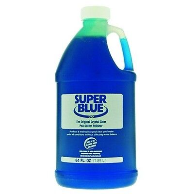 ADVANTIS Robarb Super Blue Clarifier, Half Gallon, Pool Water Cleaner R20155 New