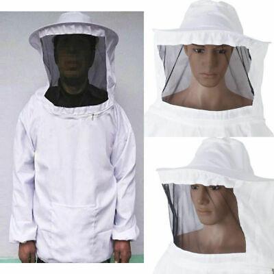 Professional Beekeeping Jacket Veil Bee Keeping Suit Smock Protective Equipment