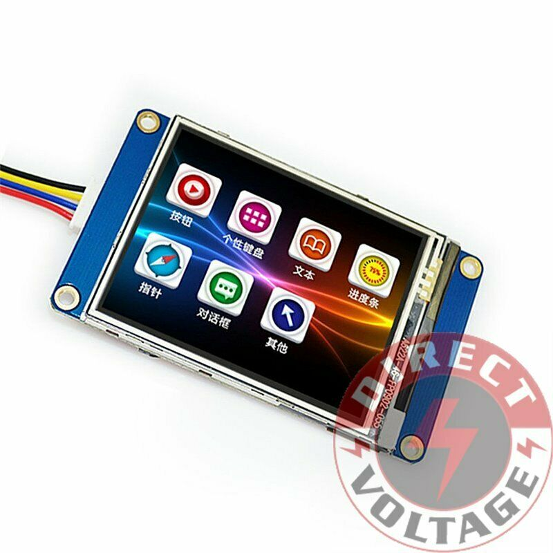 "Nextion NX4024T032 - Generic 3.2"" HMI LCD Touch Display 4MB Flash"