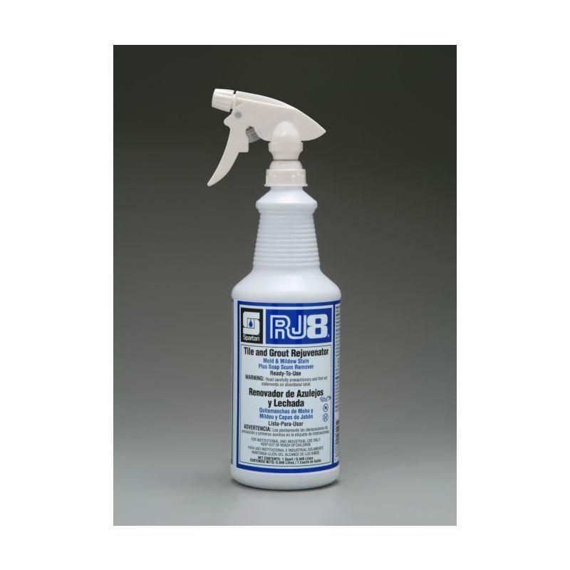 Spartan RJ8 Bathroom Cleaner, Quarts, 12 Per Case