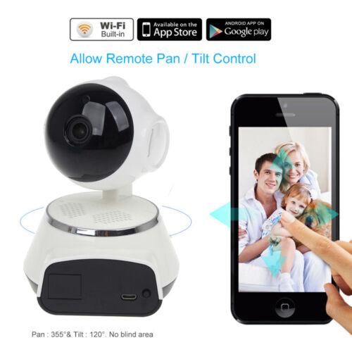 2 Way Hd Wifi Camera Baby Monitor Cctv Video Pt Night