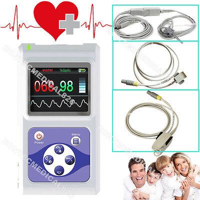 Fda Handheld Infantchildadult Pulse Oximeter Spo2 Pulse Rate Monitor3 Probes