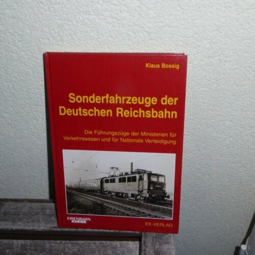 EK Verlag Sonderfahrzeuge der Deutschen Reichsbahn Die Führungszüge der DDR