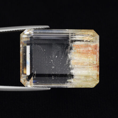 74.69 ct BEST GRADE RARE_UNTREATED RUTILATED 100% NATURAL TOPAZ - See VDO RT04