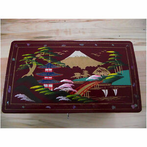 Asian Musical Jewelry Box