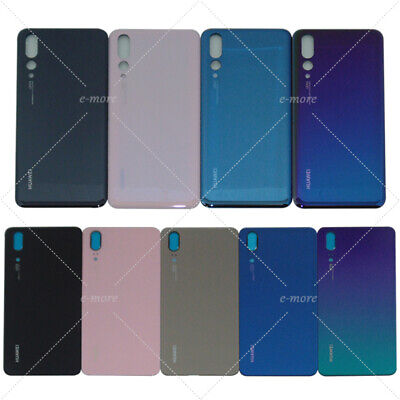 OEM For Huawei P20/ P20 PRO Rear Glass Back Battery Cover + Adhesive - Rear Plastic Cover