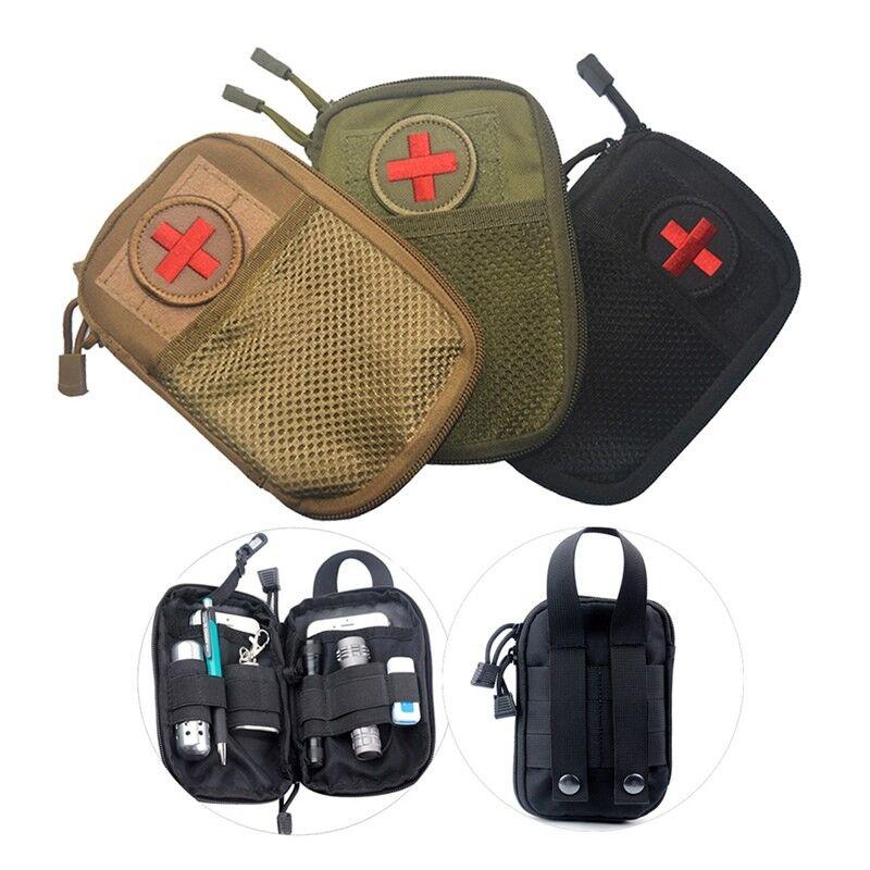 Militärische Erste-Hilfe-Ausrüstung Tasche Für Wandern Notfallbehandlung Nett