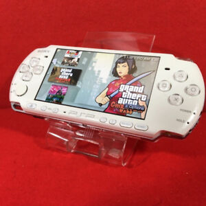 PSP SLIM- 2000 • (CUSTOM FIRMWARE PLAYS FREE DOWNLOADABLE GAMES)