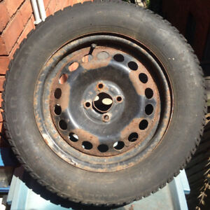 ***OBO*** 4 Used Uniroyal Tires Tiger Paw Ice & Snow II