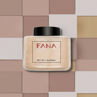 Use Loose Powder (FANA Finish Powder Loose Translucent For Setting Makeup Oil-absorbing Multi-Use )