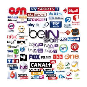 CHAINES DE TV SANS LIMITE, SPORT,FILMS, SERIES, KIDS &+
