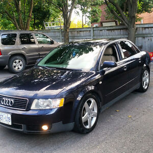 2002 Audi A4 Awd Sedan 3.0 v6 . Looking to trade for a truck