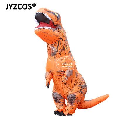 Inflatable Dinosaur Costumes Fancy Dress Adult Kid Halloween Xmas Blowup Cosplay (Halloween Blowups)