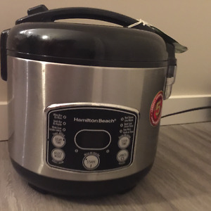 used rice cooker on sale!