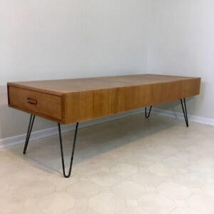Newly Refinished Mid Century Modern Teak Coffee Table