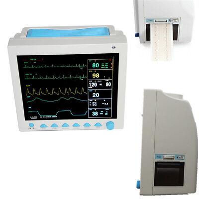Hot Sale Cefda Veterinary Icu Vital Signs Patient Monitor6 Parametersprinter