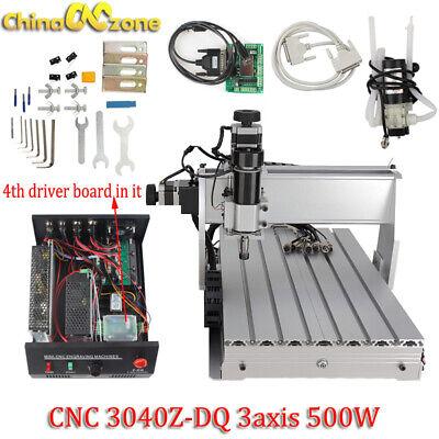 Cnc 3040z-dq 3-axis Router 500w Engraving Mach 3 Usb Cutting Machine 110v220v