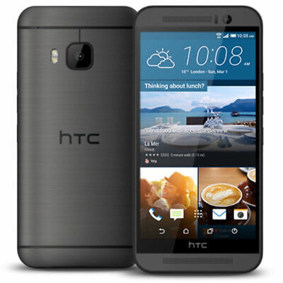 """HTC One M9 (AT&T) 32GB GSM Unlocked Smartphone 4G LTE Octa-core - 5.0"""""""