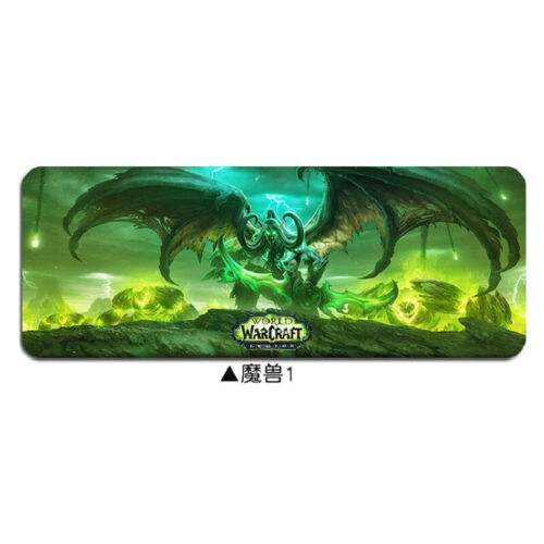 Keyboard Mat Gaming WOW Mouse Pad Cool And Fashionable World of Warcraft Large