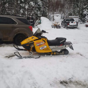 2003 Ski Doo MXZ 800 Trade for 2 up sled