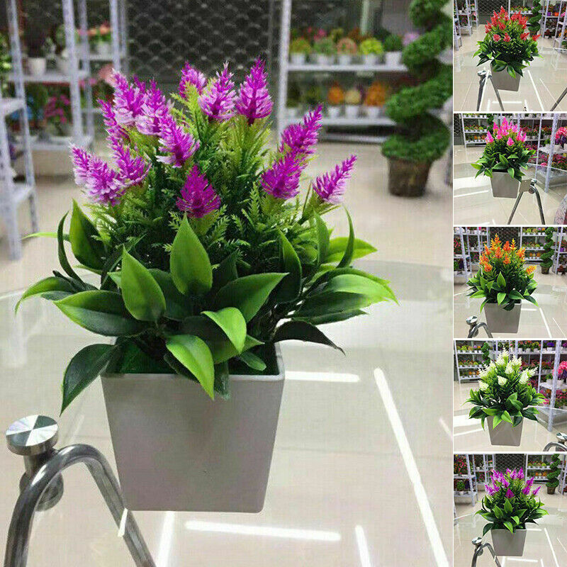 Home Decoration - Artificial Faux Plants Tree In Pot Garden Home Party Indoor Outdoor Office Decor