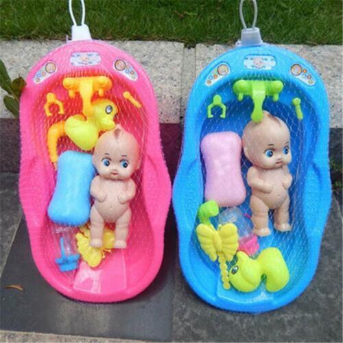 baby doll bath time pretend play bathtub