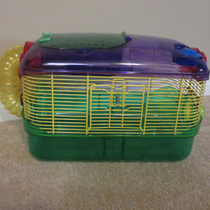 Barnhartvale: 2 Hamster cages (includes accessories) $5.00 ea